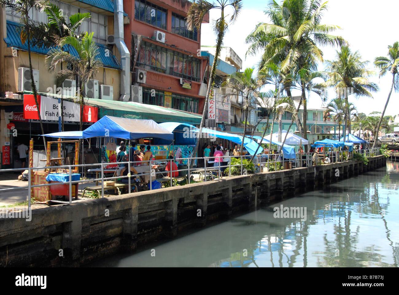 Outdoor Market Suva Fiji Stock Photo Royalty Free Image