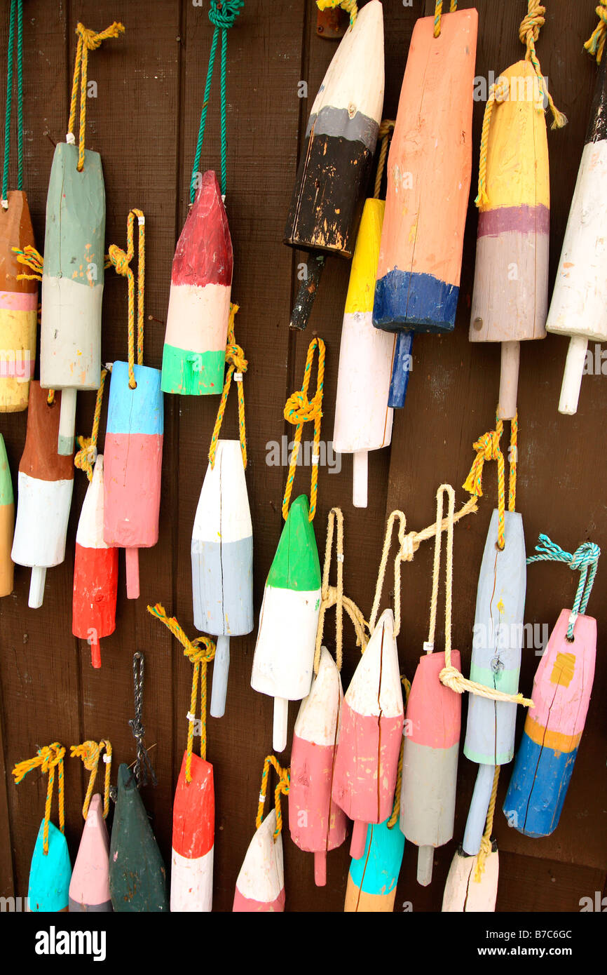 Lobster pot buoys at a craft shop near bar harbor maine for Where is a craft store near me