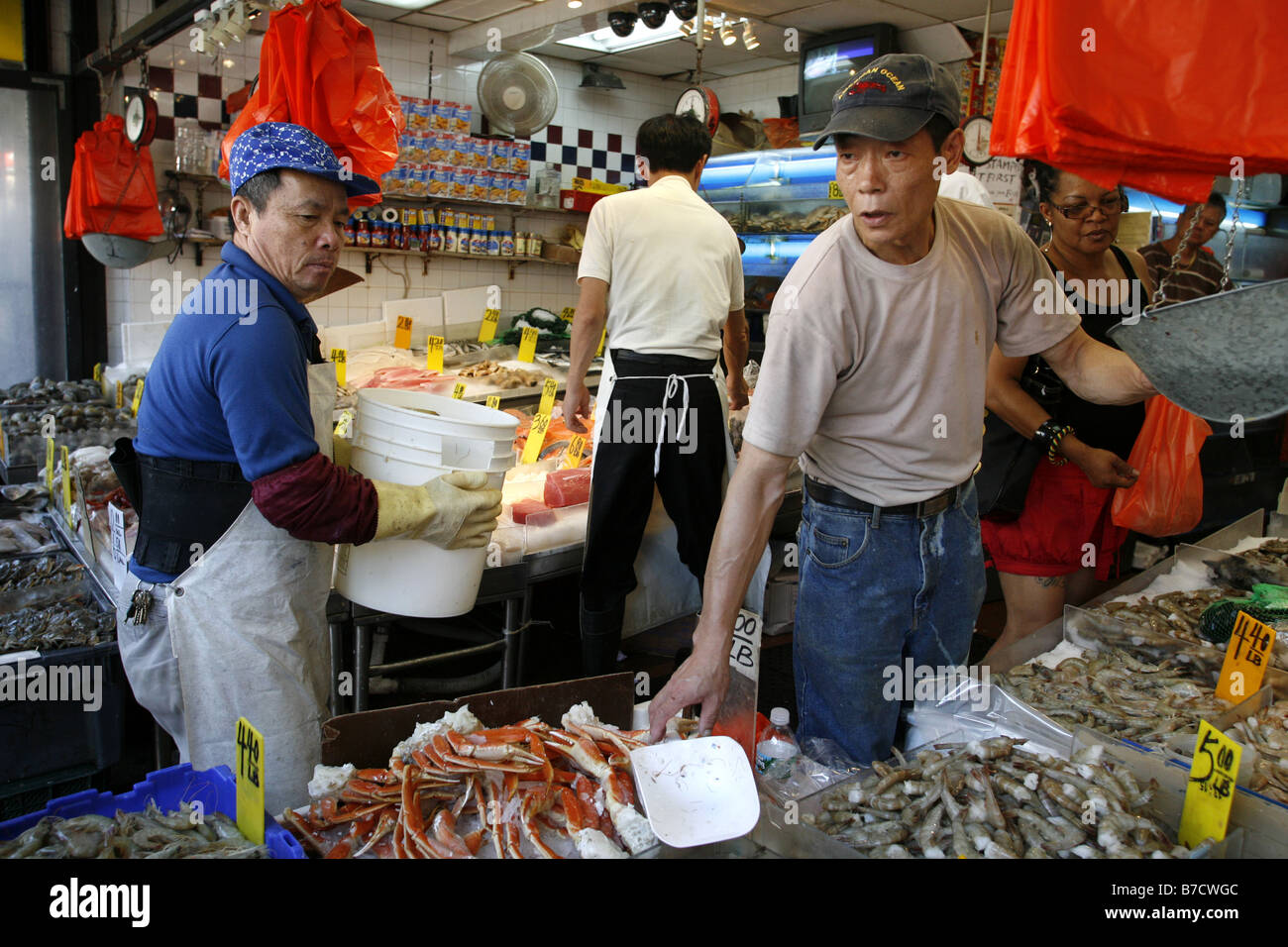 Fish market canal street chinatown new york city usa for Chinatown fish market