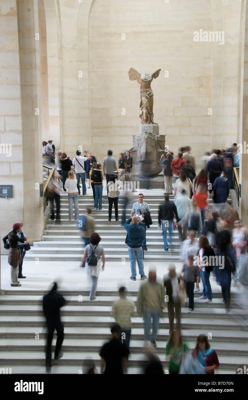 Winged Victory of Samothrace, Nike of Samothrace, Louvre, Paris, France,  Europe