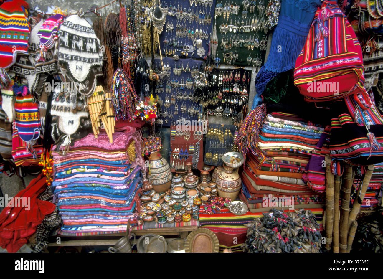 Bolivian Witch Craft Market