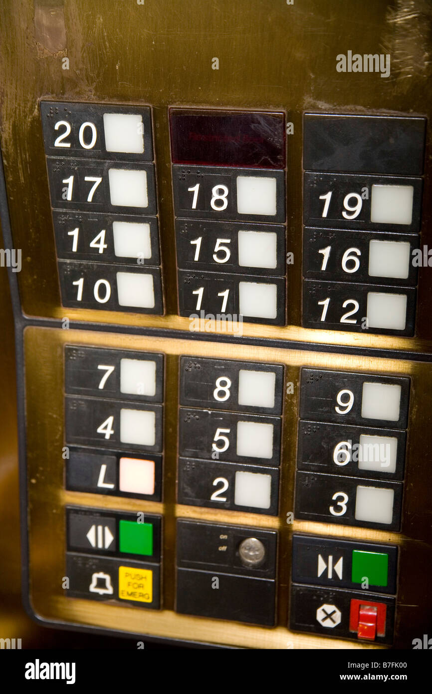 Superior Buttons On Elevator Panel Show No 13th Floor Humoring Those Who Think 13 Is  An Unlucky Number