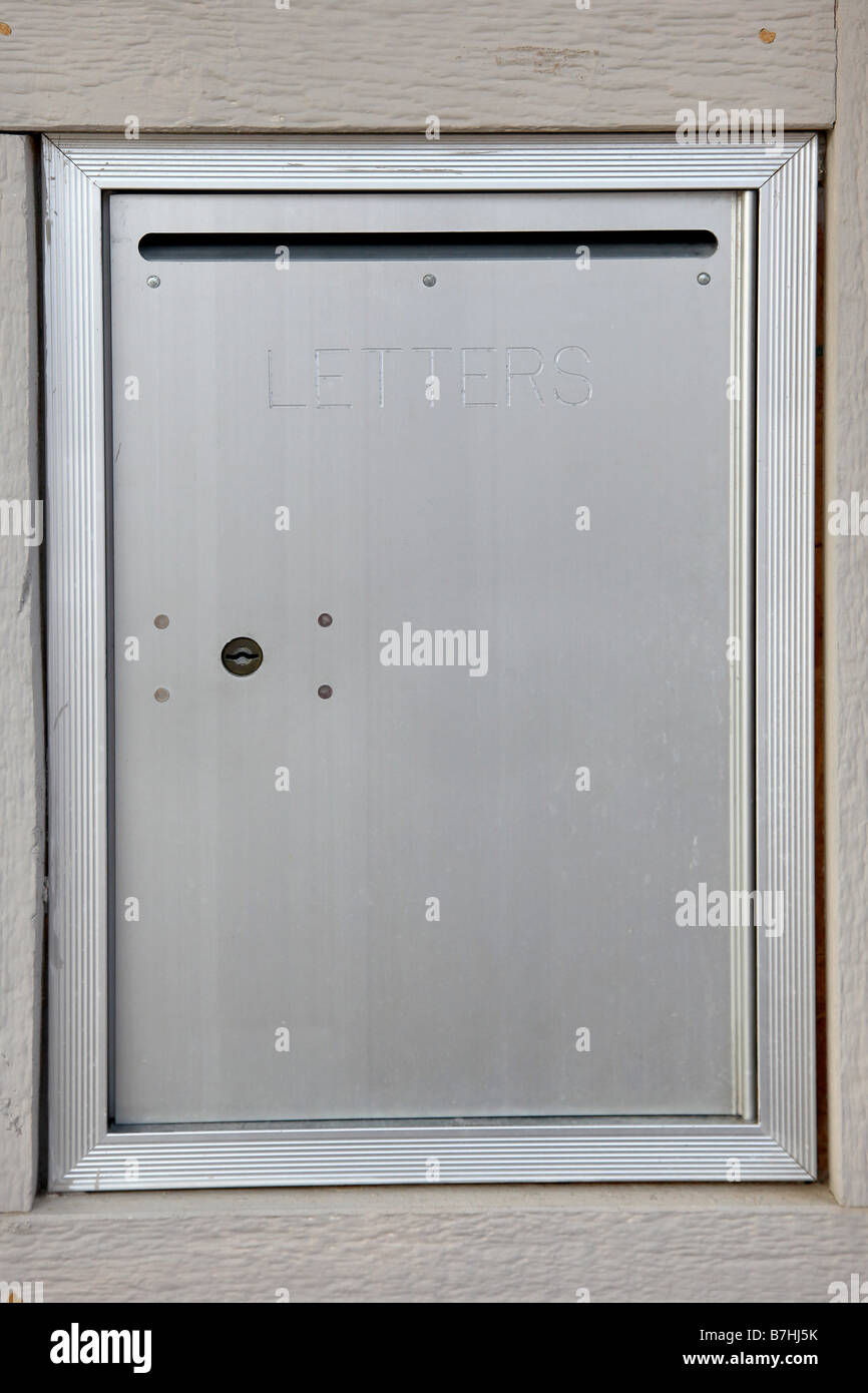 Official Community Mail Dropbox Word LETTERS On Box Door
