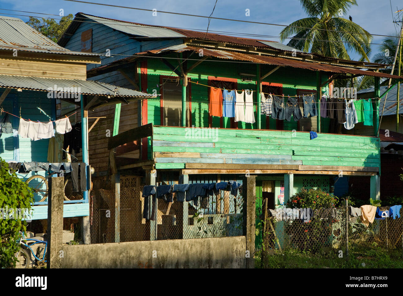 Houses In Bocas Town That Demonstrate The Classic