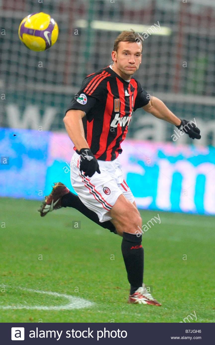 andriy shevchenko 'milan 03 12 2008 'soccer italian cup 2008 2009