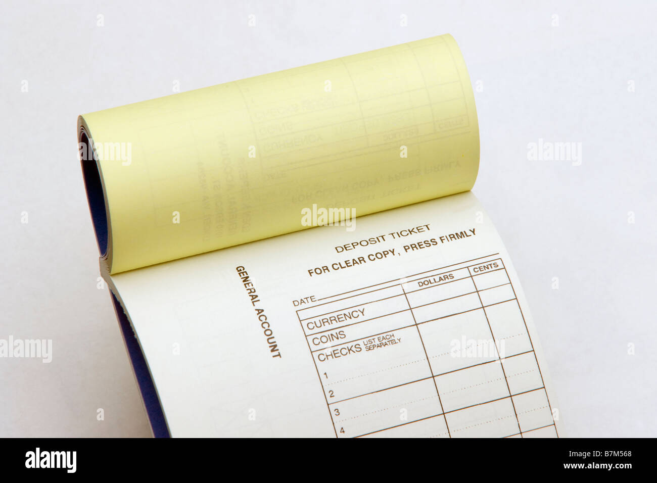 business deposit book Stock Photo, Royalty Free Image: 21956096 ...