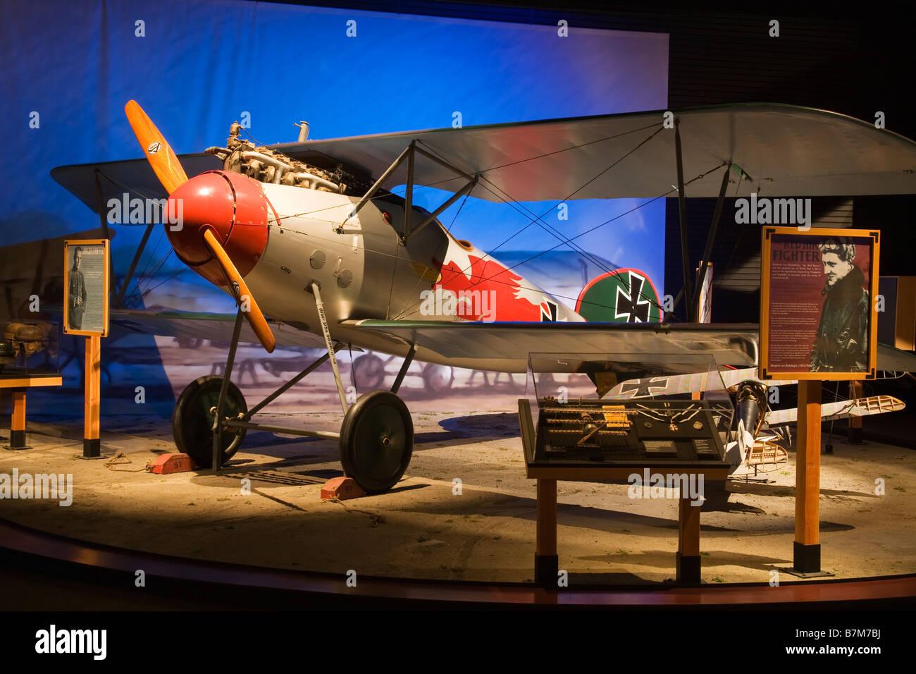 German Albatross D Va Aircraft Museum Of Flight Seattle Washington - German museums in usa