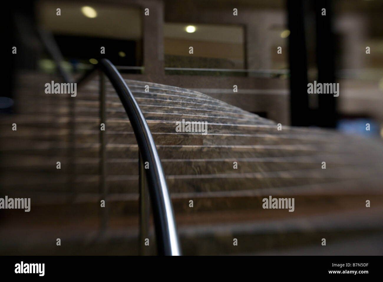 stairs at the winter garden in nyc stock photo royalty free image
