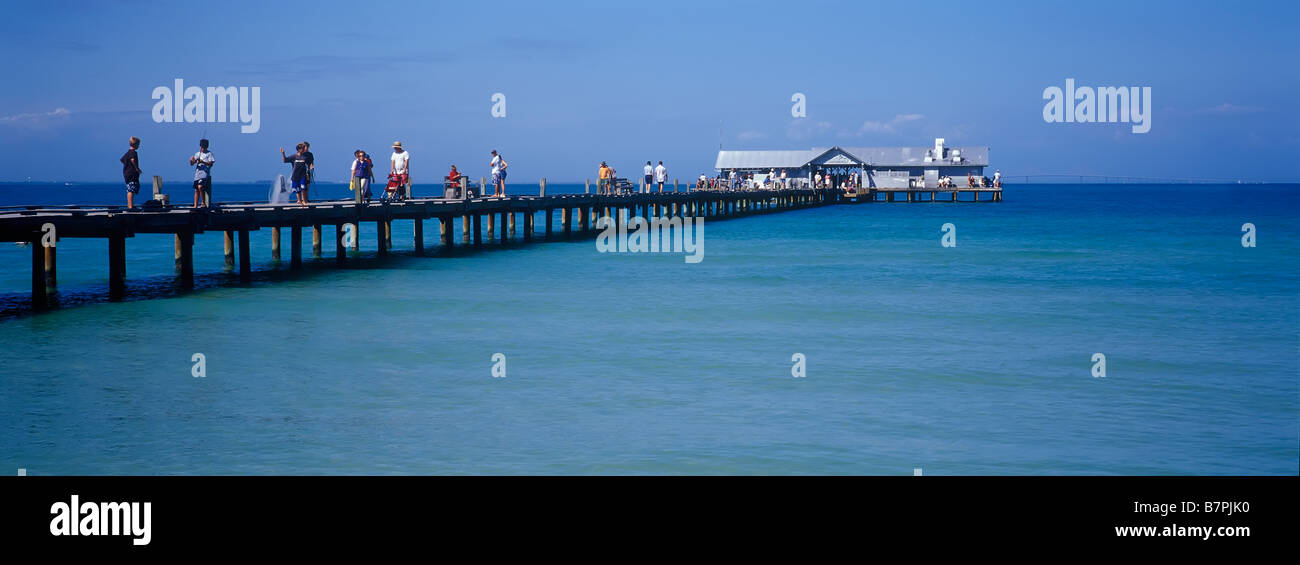 Public Fishing Pier In The Gulf Of Mexico On Anna Maria