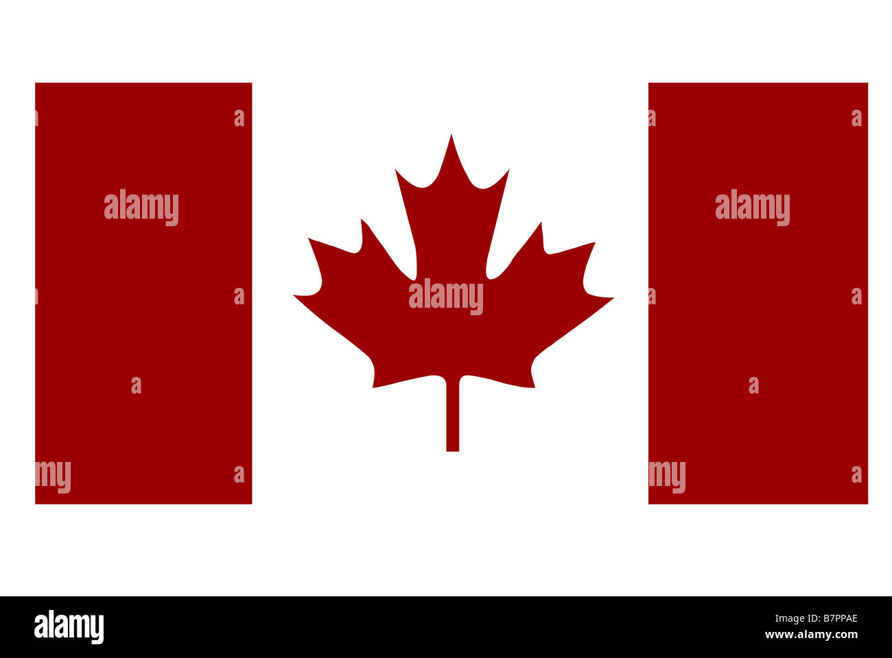 canada flag red and white with maple leaf stock photo royalty