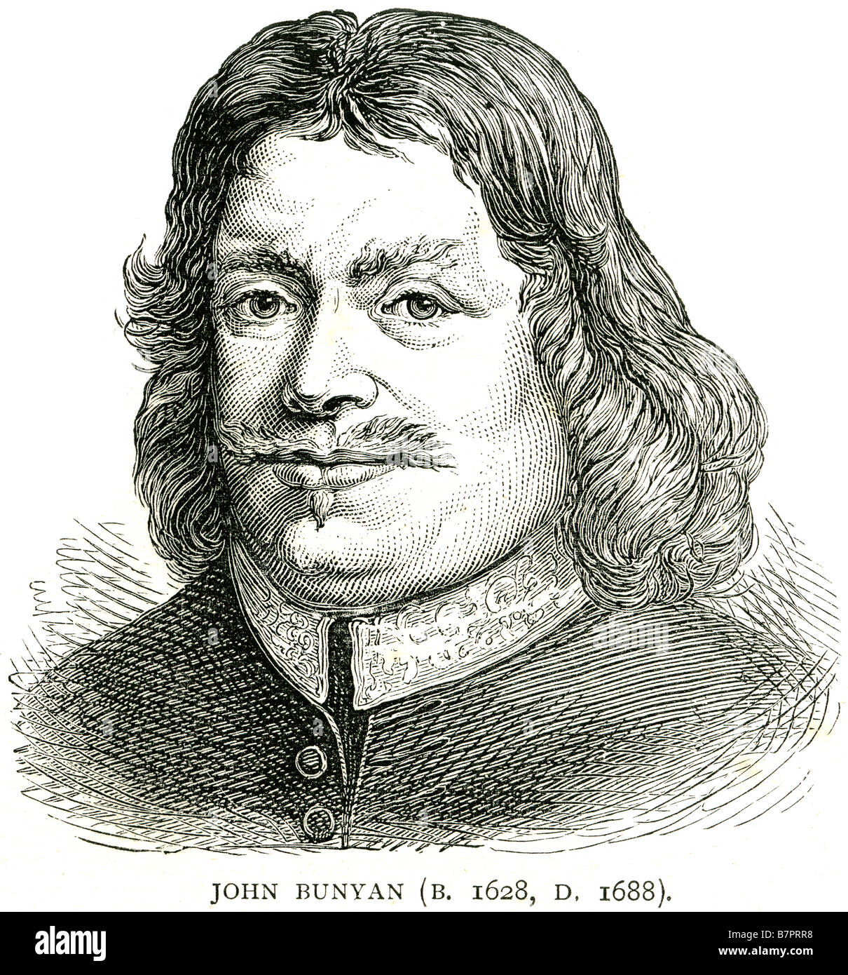 john bunyan english christian writer preacher pilgrim s  john bunyan 1628 1688 english christian writer preacher pilgrim s progress face portrait profile