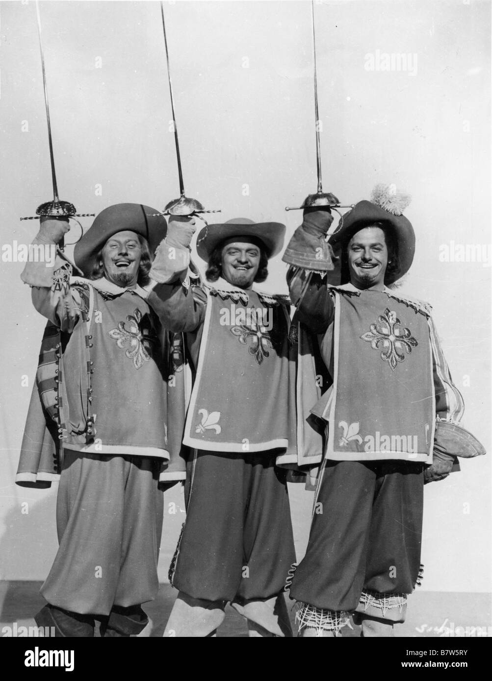 The Three Types Of Totalitarian Systems: Les Trois Mousquetaires The Three Musketeers Année 1948