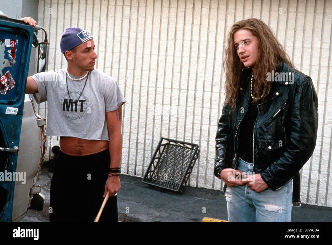 Radio rebels Airheads Année 1994 usa Brendan Fraser Adam ...  Radio rebels Ai...