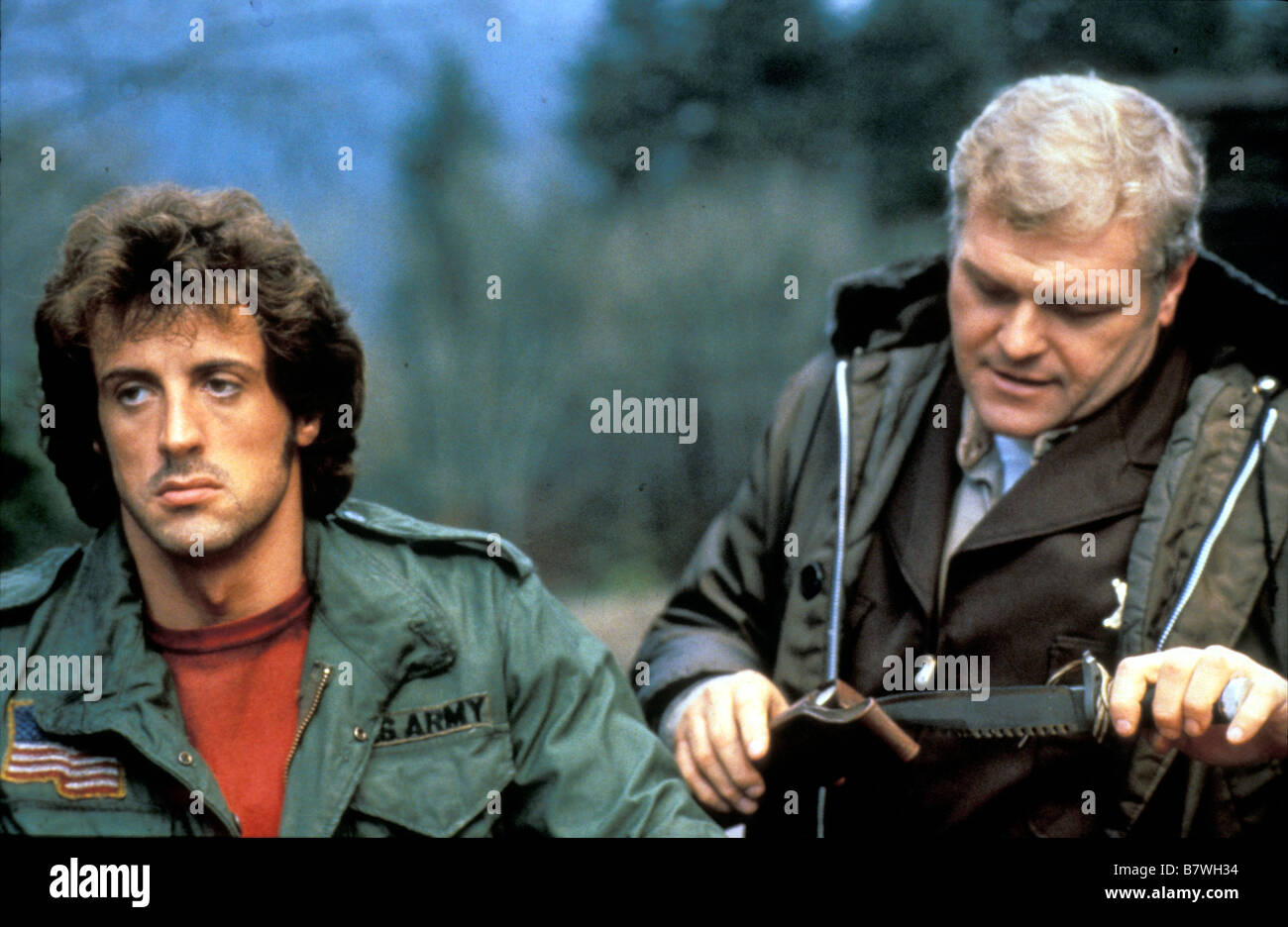 Rambo First Blood Année 1982 usa Sylvester Stallone Brian ...
