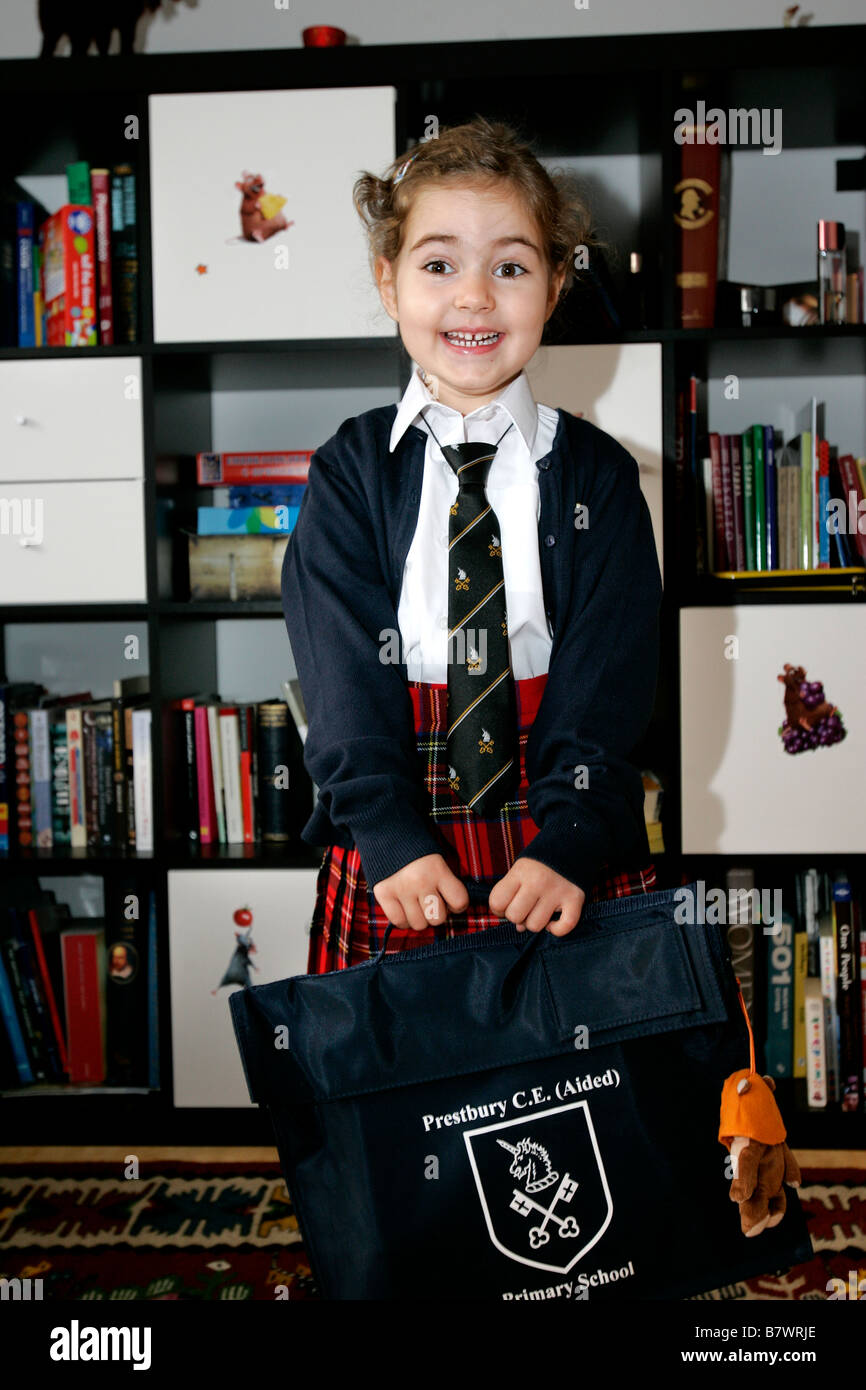 School bag for year 7 -  Smile Schoolgirl School Girl Uniform Bag Books Happy Exiting Time Fun Enjoy Game 5 6 7