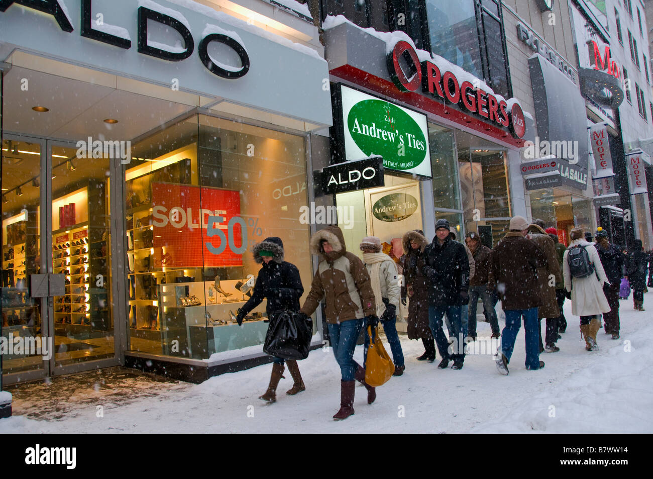 Clothing stores on st catherine street montreal