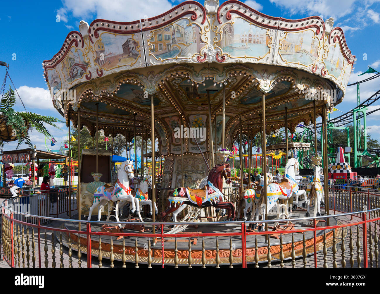 Carousel In Old Town Kissimmee On Us 192 Kissimmee