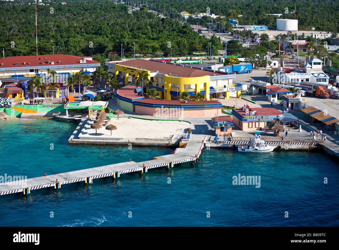 Pin Cruise Ships In Port In Cozumel Mexico Photo Courtesy