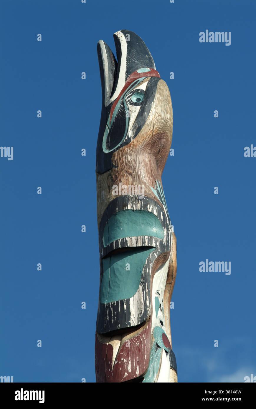 The Totem Pole In The Car Park Of The Prestoungrange Gothenburg