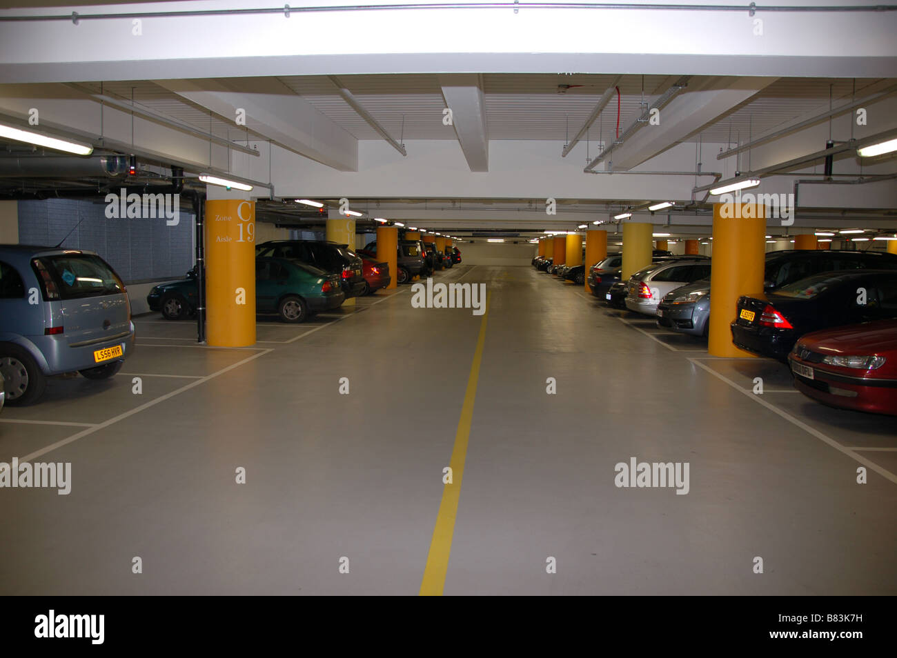 the car park at westfield shopping centre london england. Black Bedroom Furniture Sets. Home Design Ideas