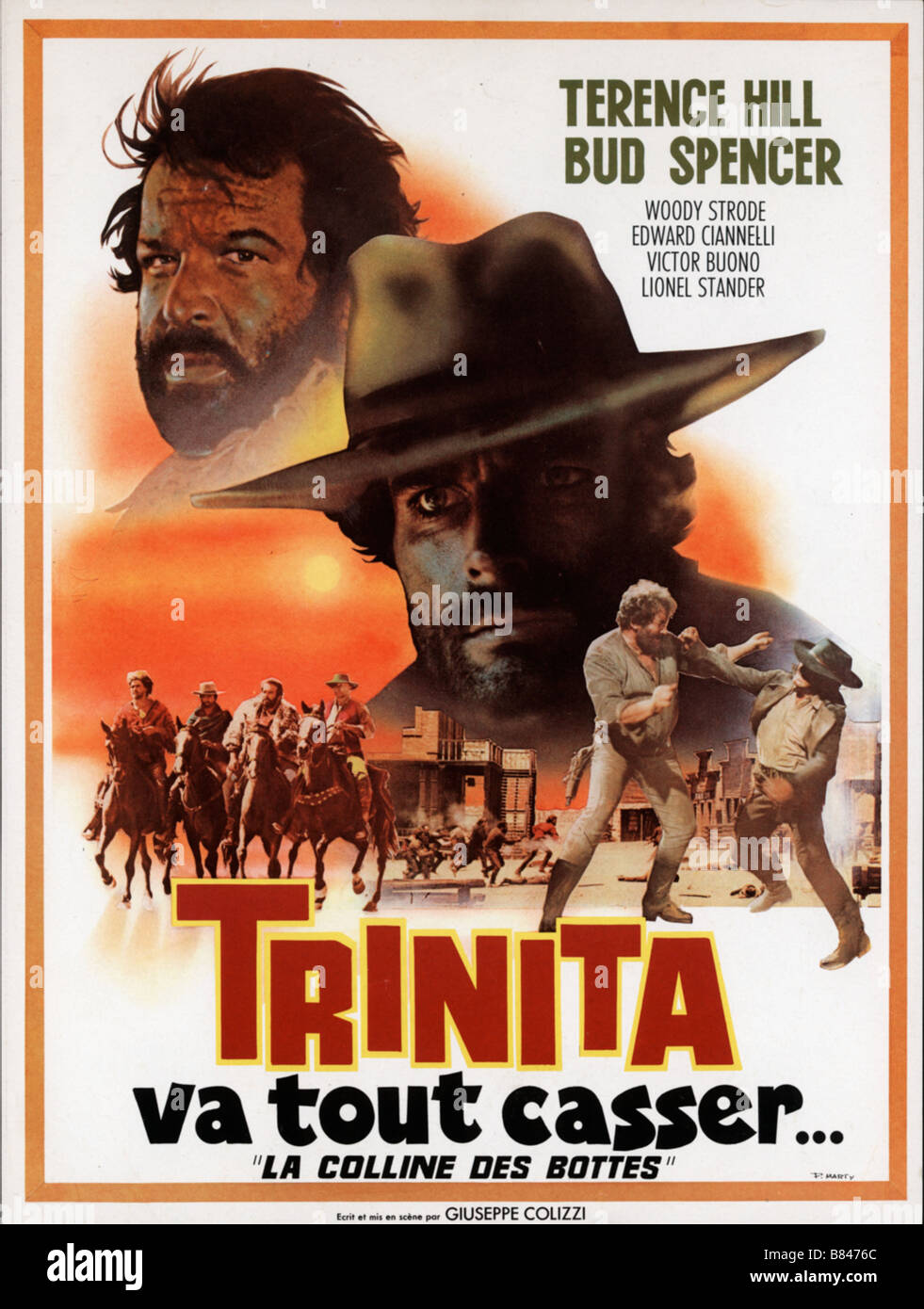 ... - Terence Hill Bud Spencer affiche poster Director Giuseppe Colizzi