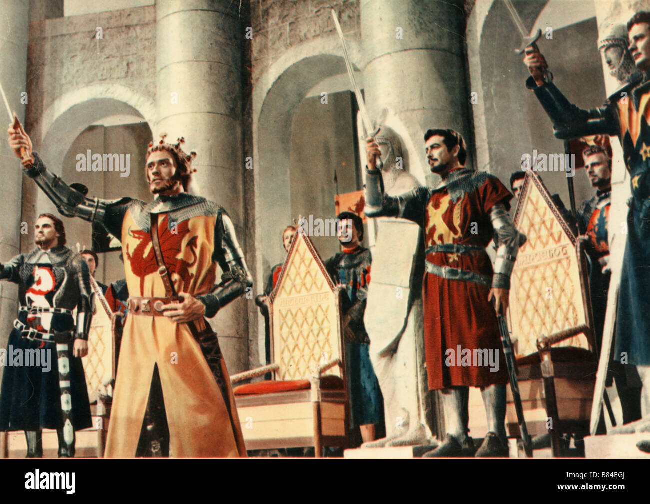 Les chevaliers de la table ronde knights of the round - Les chevaliers de la table ronde film 1953 ...