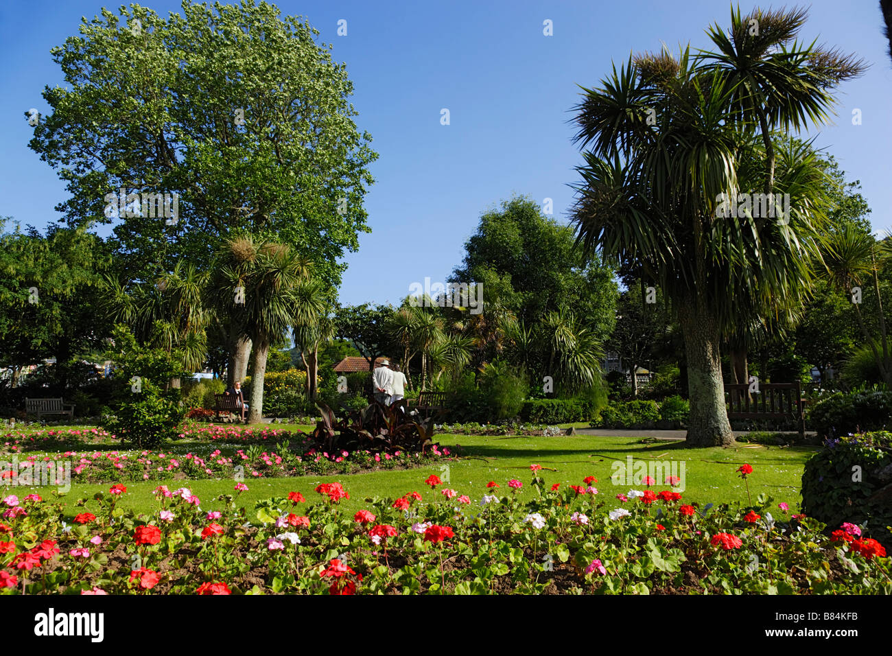 Dartmouth United Kingdom  city pictures gallery : The Royal Avenue Gardens Dartmouth Devon England United Kingdom Stock ...