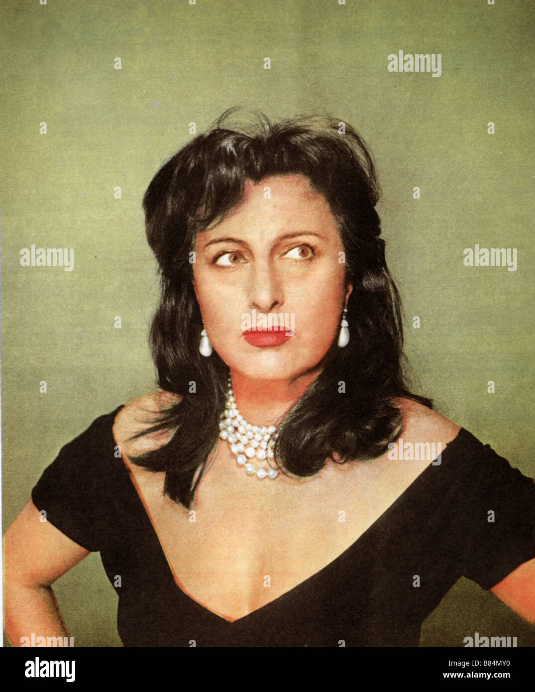 Bien connu ANNA MAGNANI THE ROSE TATTOO (1955 Stock Photo, Royalty Free Image  VD34