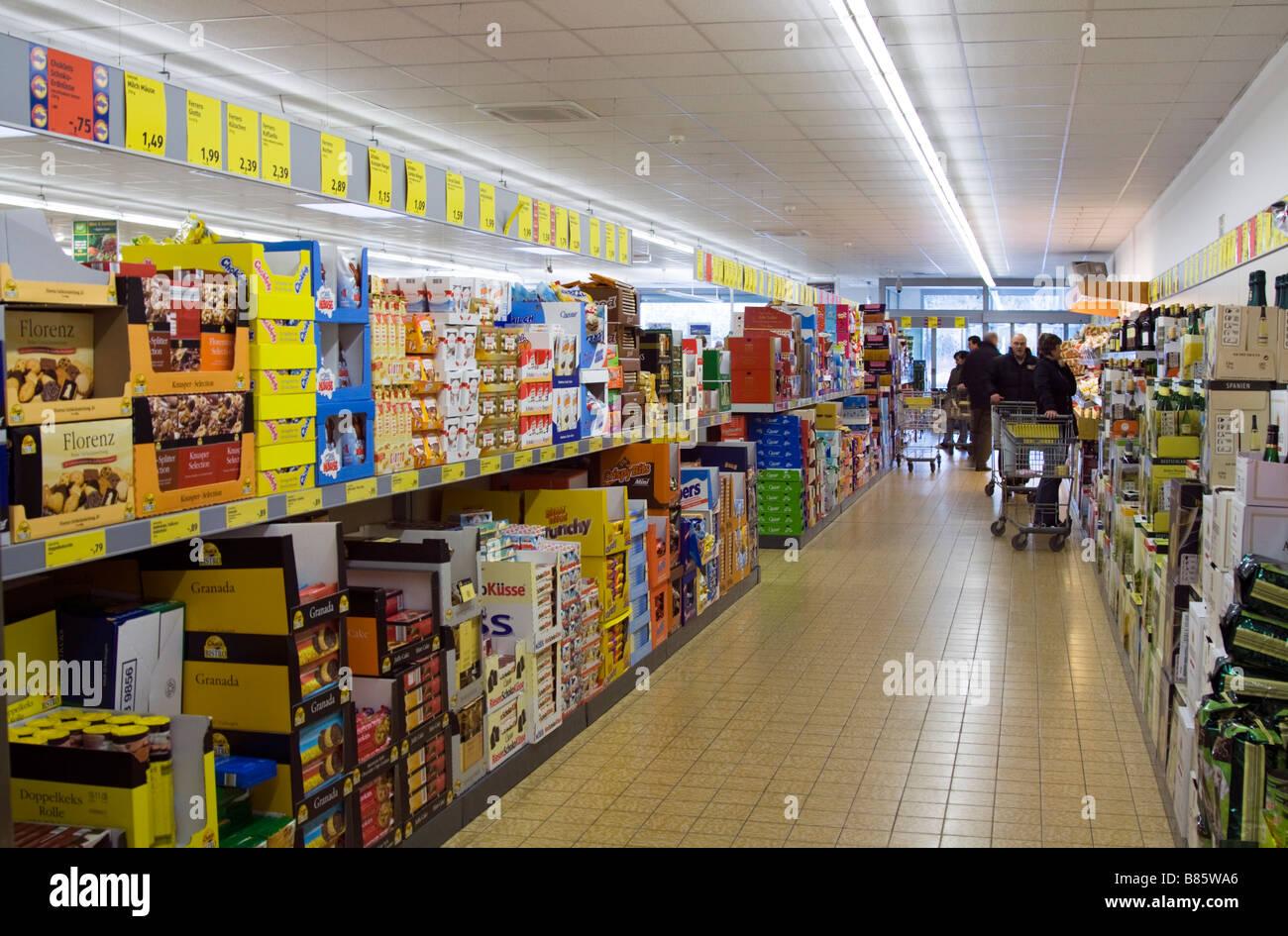 Aldi discount supermarket Mönchengladbach Germany Stock ... Aldi Germany