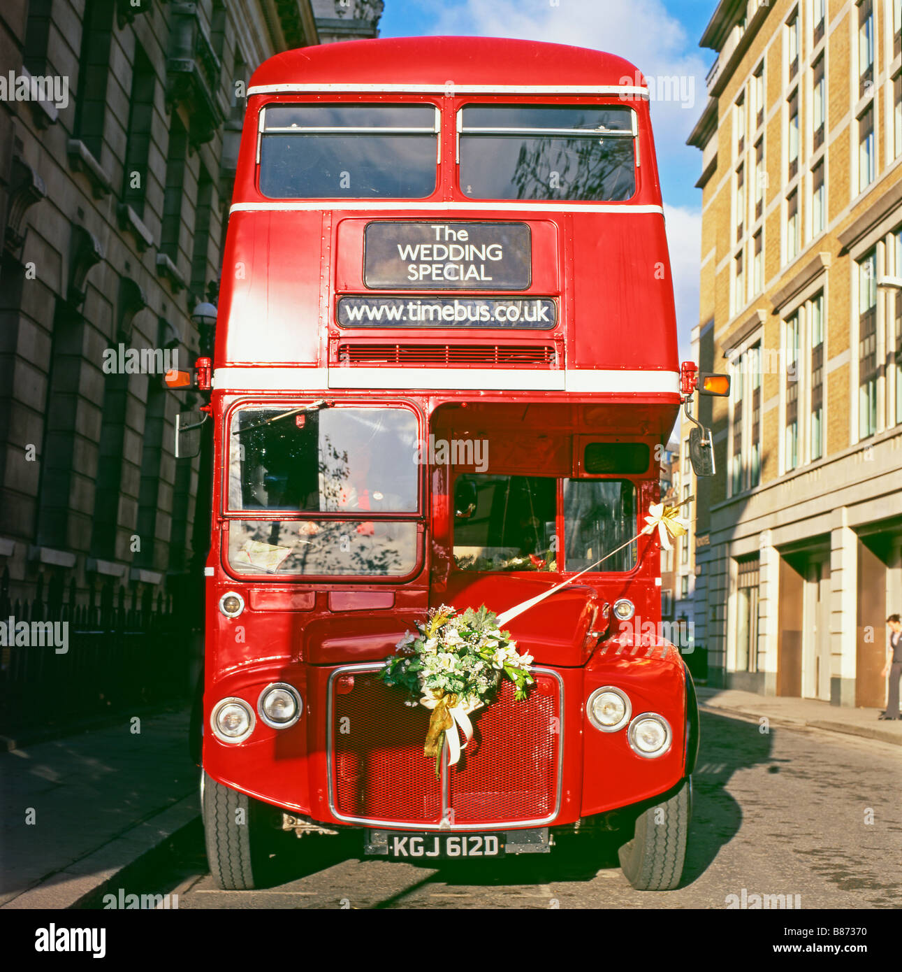 The Wedding Special Routemaster Red London Double Decker Bus England UK 2008