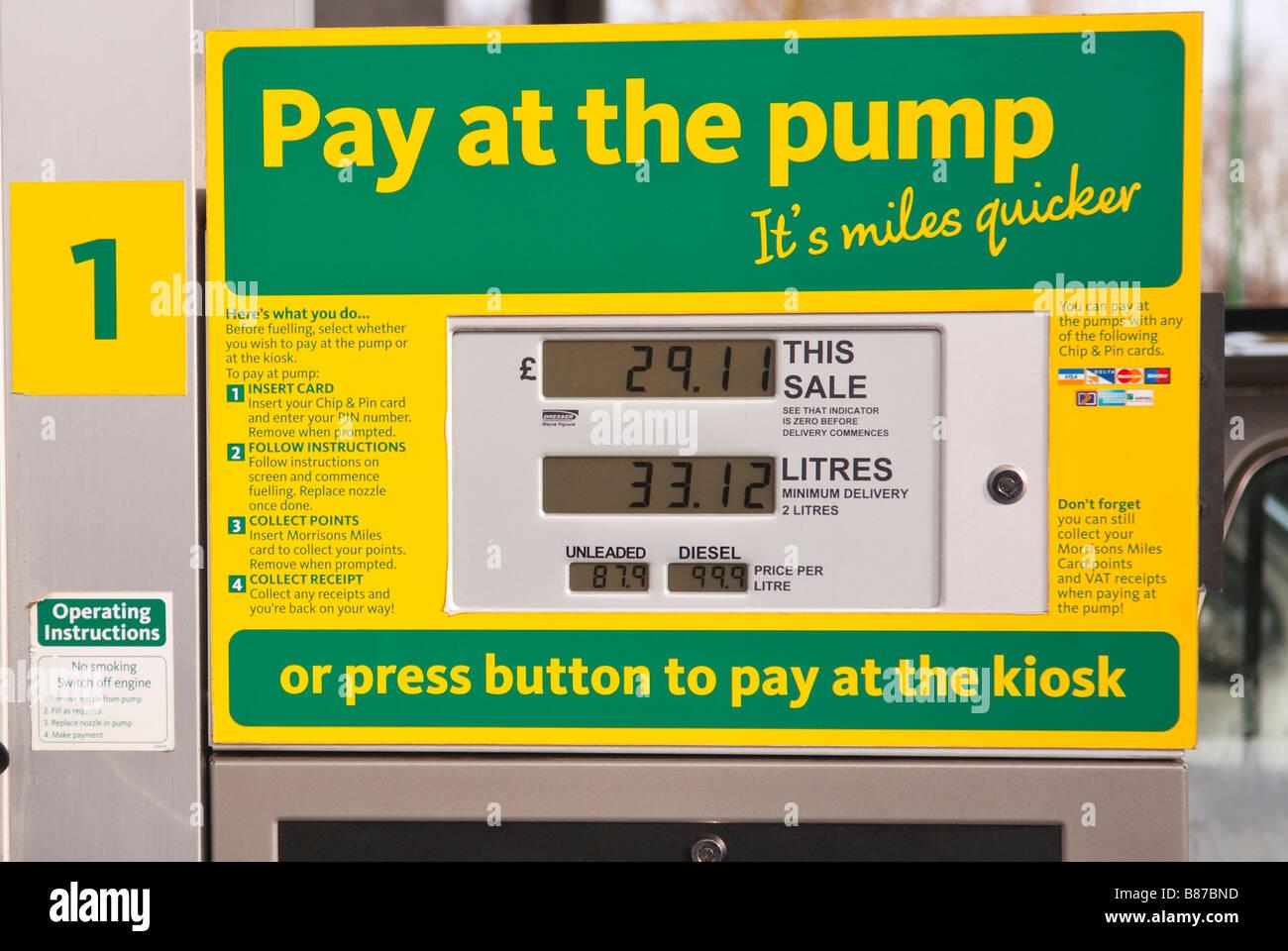 Morrisons Petrol Pump Stock Photos & Morrisons Petrol Pump Stock ...