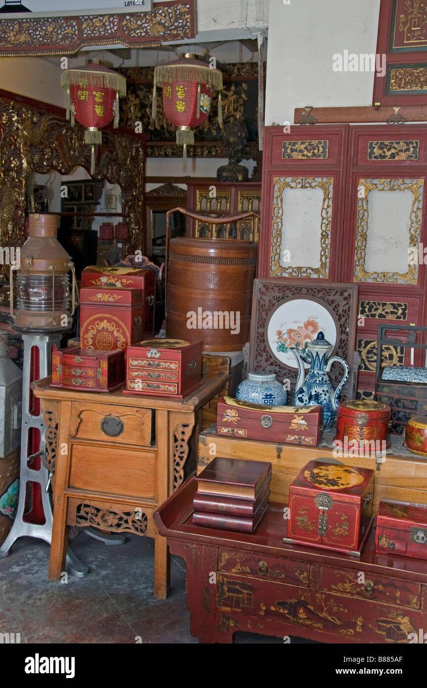 Malacca Malaysia Chinatown China Chinese Lantern Antique Shop