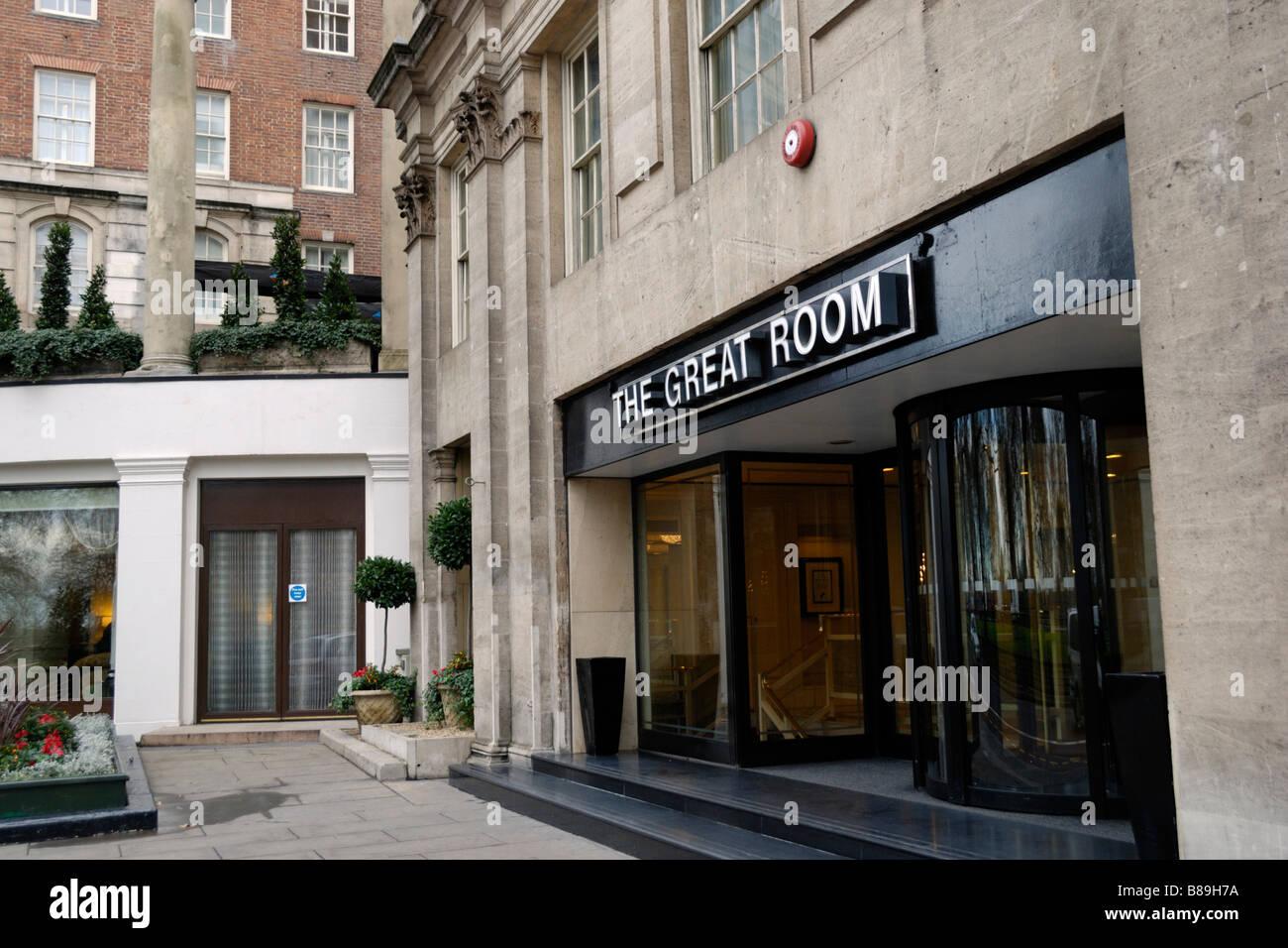 The Great Room Grosvenor House Park Lane