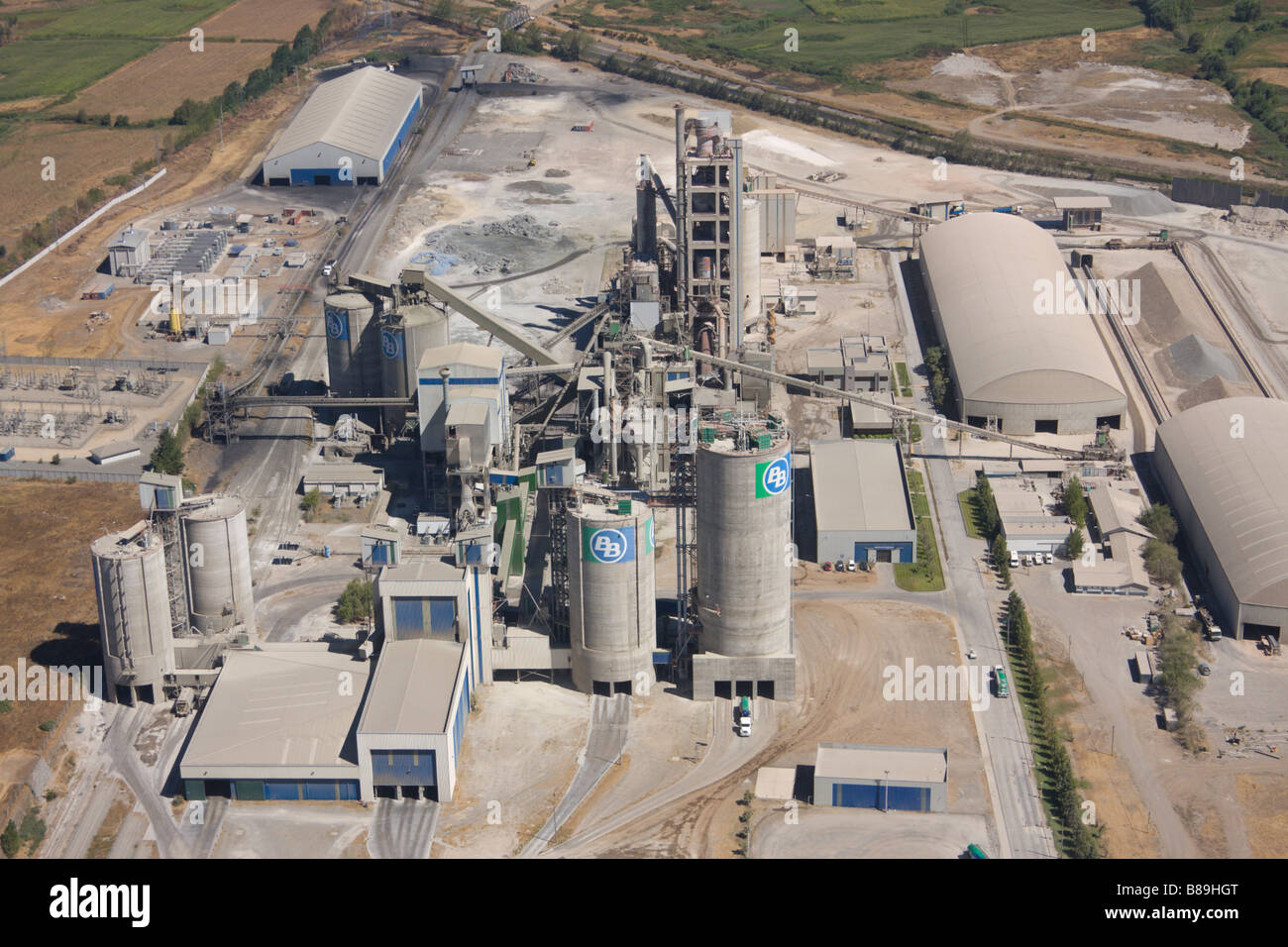 Idaho Cement Plants : Cement plant chile stock photo royalty free image