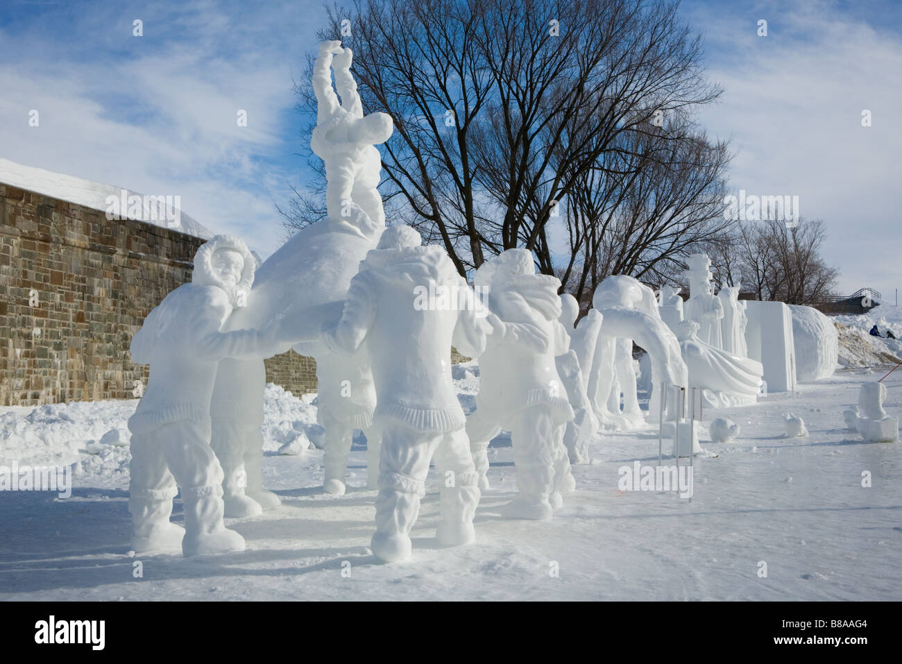 A history of the winter carnival in quebec city canada