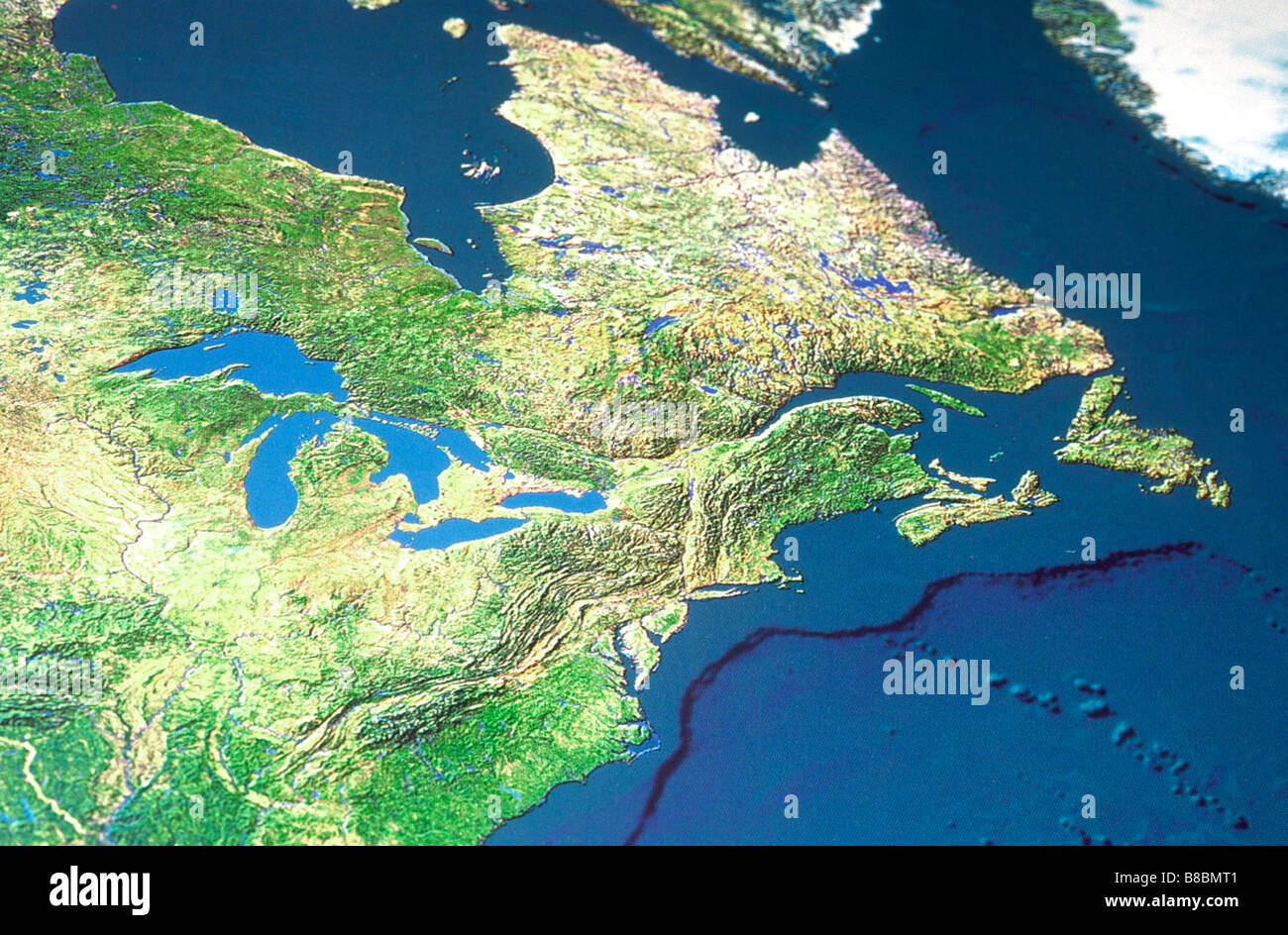 Map Canada Great Lakes Stock Photo Royalty Free Image - Map of canada with great lakes