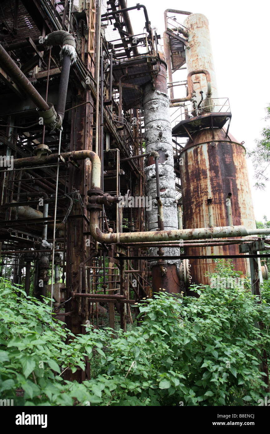 an overview of the union carbide plant in bhopal 1947, union carbide purchases plant in institute, w va, which it had previously   1984, in december, a gas leak at a plant in bhopal, india, caused by an act of.