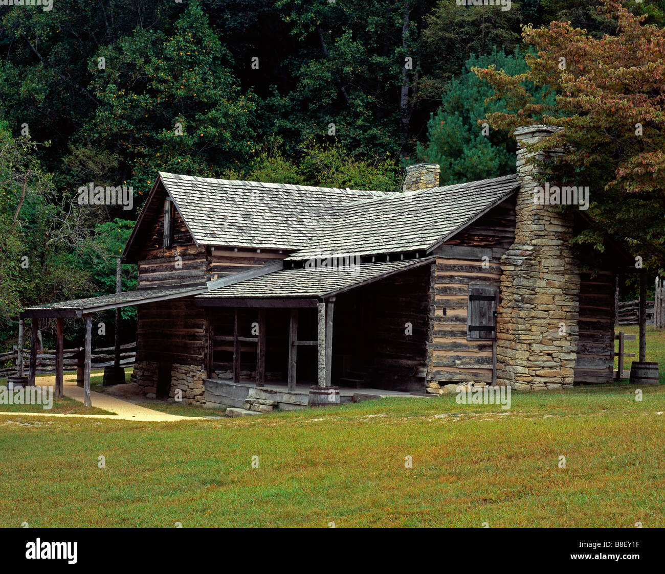 Charmant North Carolina   Historic Hutchinson Homestead At Stone Mountain