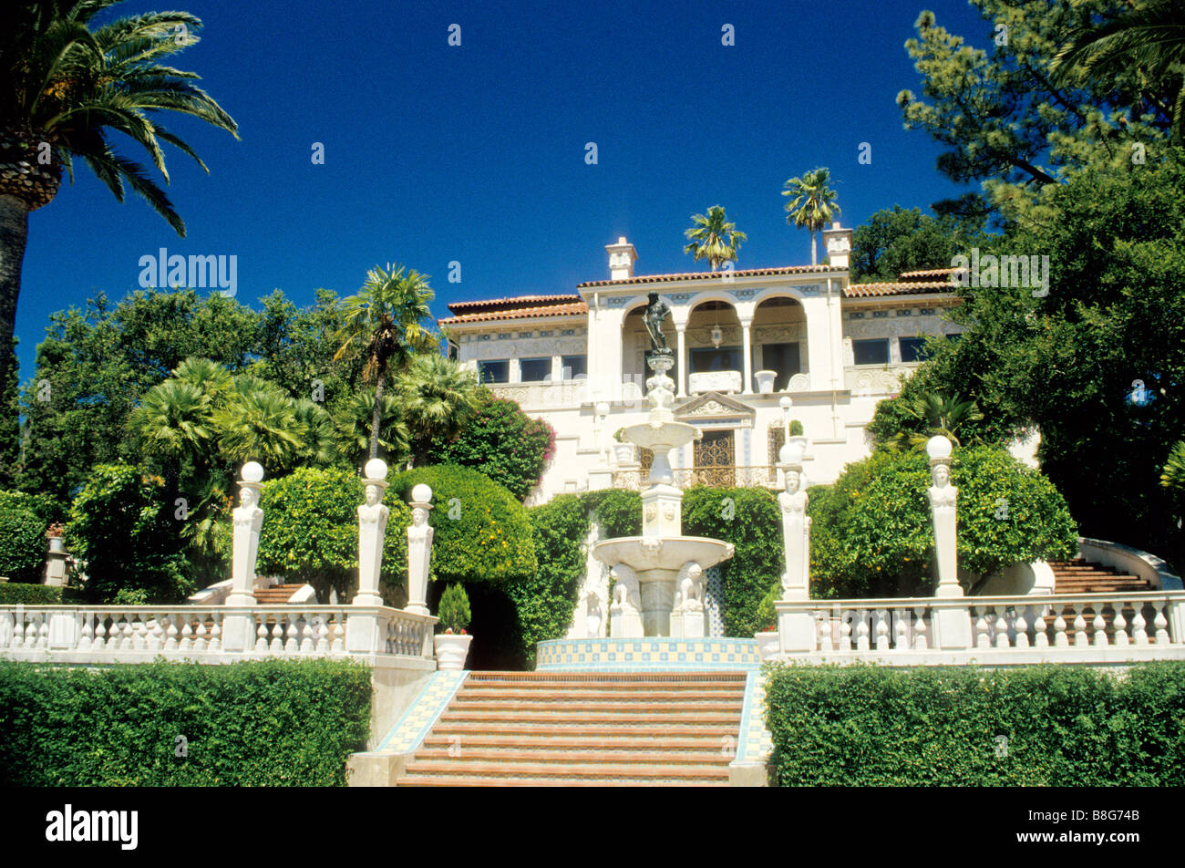 The casa del sol guest house at hearst castle san simeon for San sineon