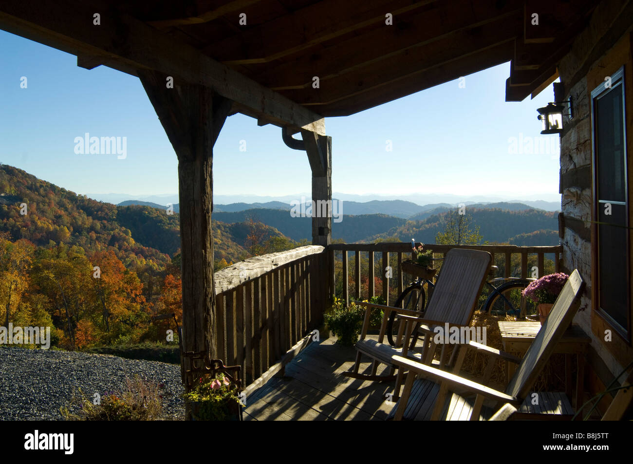 Bon Wolf Laurel Cabin Offers A Spectacular View Of The Fall Foliage In The  Mountains Of North Carolina