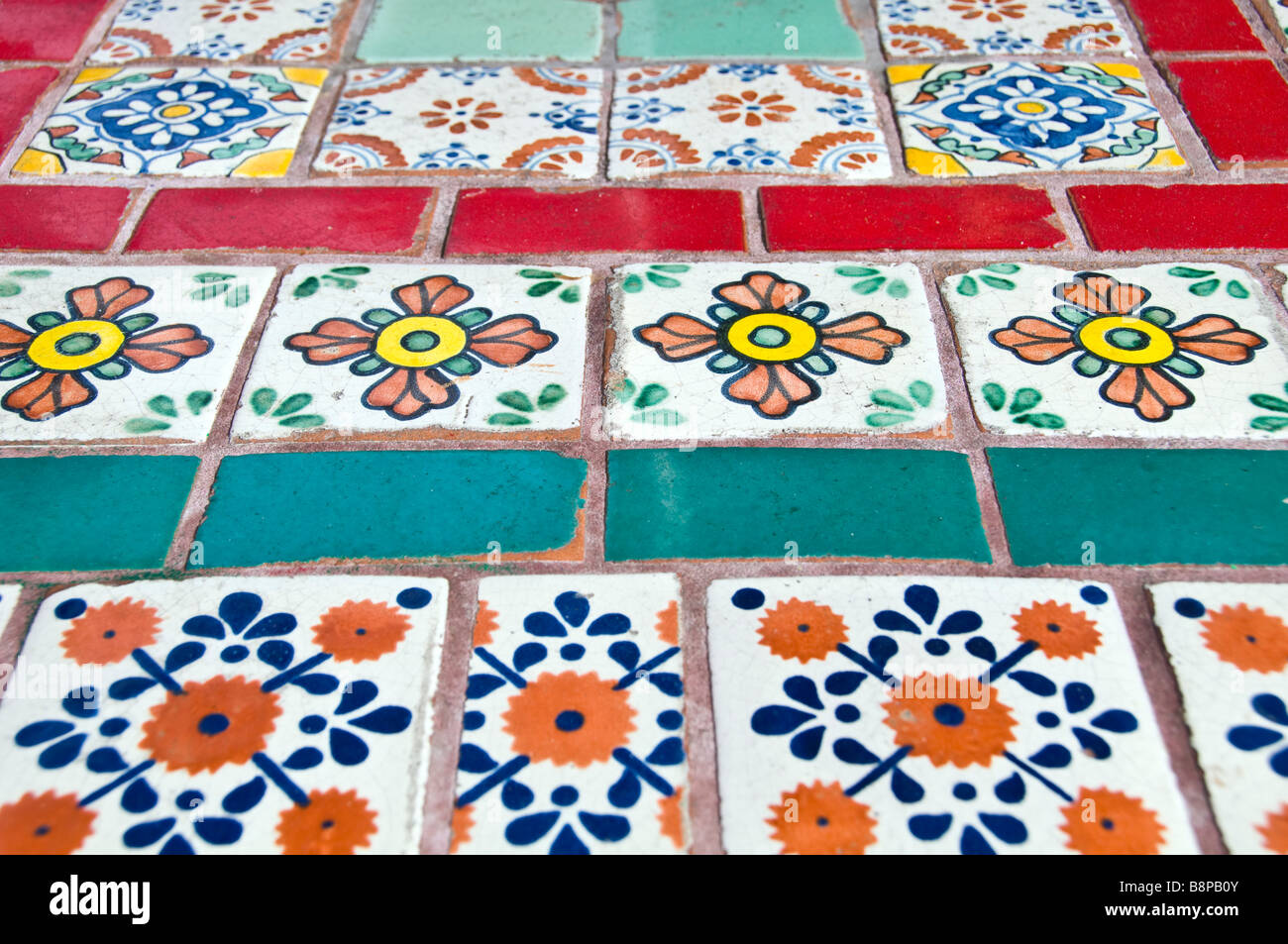 Colorful mexican ceramic tiles brightly colored painted designs colorful mexican ceramic tiles brightly colored painted designs san antonio texas dailygadgetfo Gallery