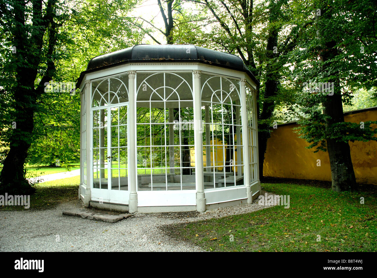 Summerhouse at Hellbrun Castle used in film the Sound Of Music for song  'You are 16 going on 17'
