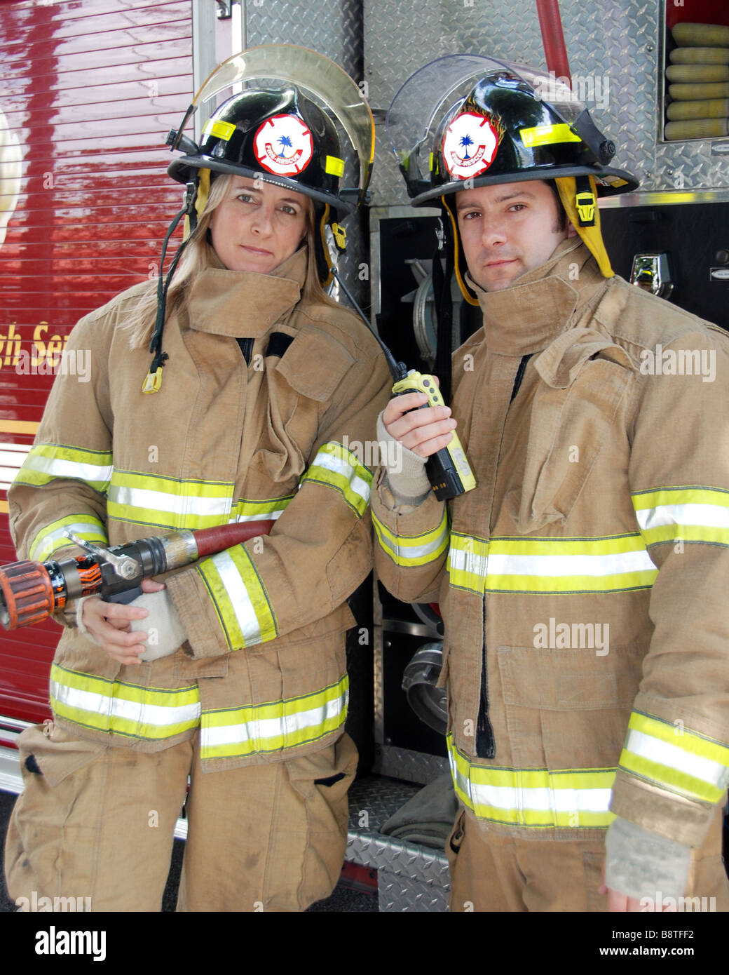 Female firefighters