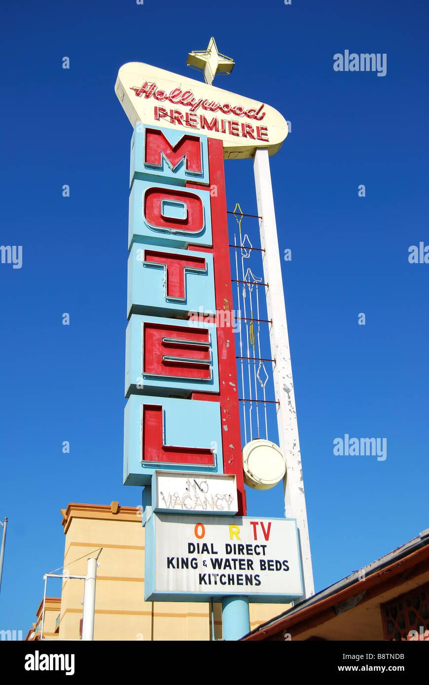 Motel  En Los Angeles California