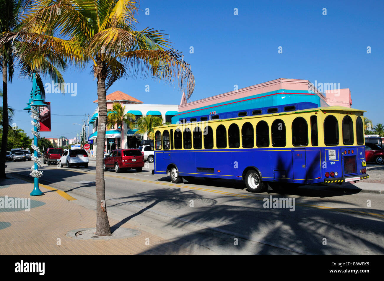 Fort Myers Beach Trolley