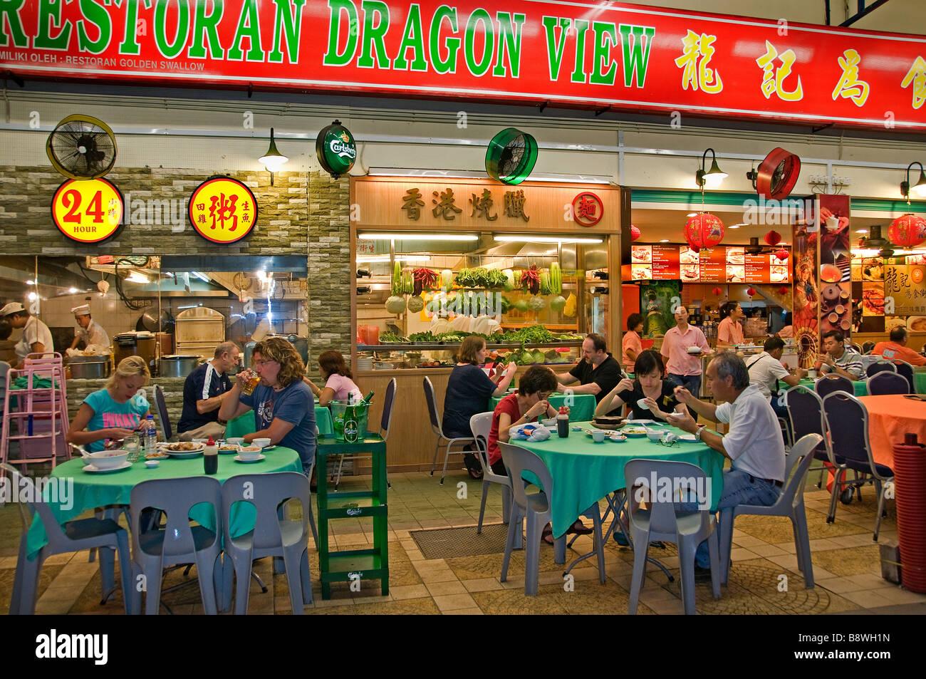 Malaysia kuala lumpur bukit bintang kitchen open air for Asian cuisine indian and thai food page