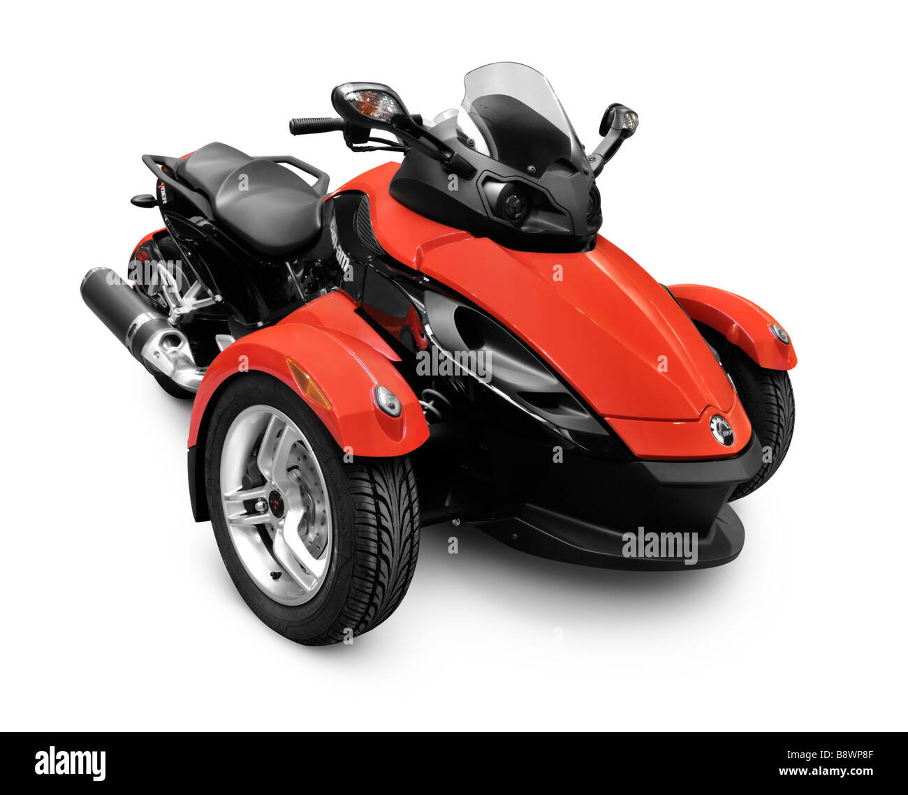 brp can am spyder roadster 3 wheeled vehicle stock photo royalty free image 22693903 alamy. Black Bedroom Furniture Sets. Home Design Ideas