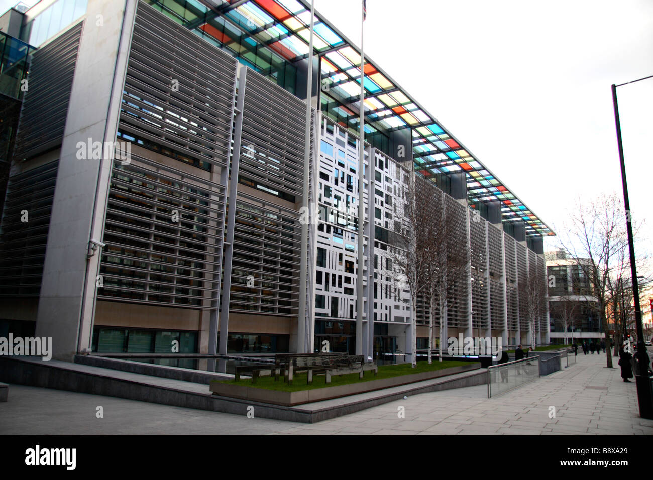 stock photo the home office building on marsham street westminster london building home office