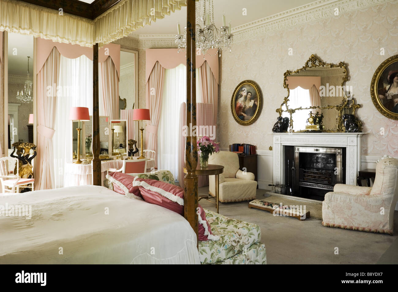 Lady Bedroom Lady Anglesey S Bedroom At Plas Newydd On The Isle Of Anglesey