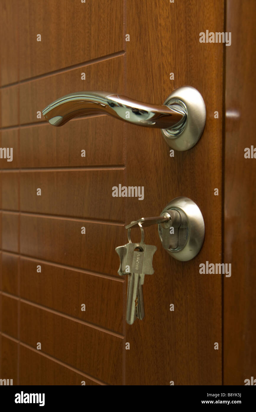 cabinet key stock photos cabinet key stock images alamy wooden door the key in the lock stock image